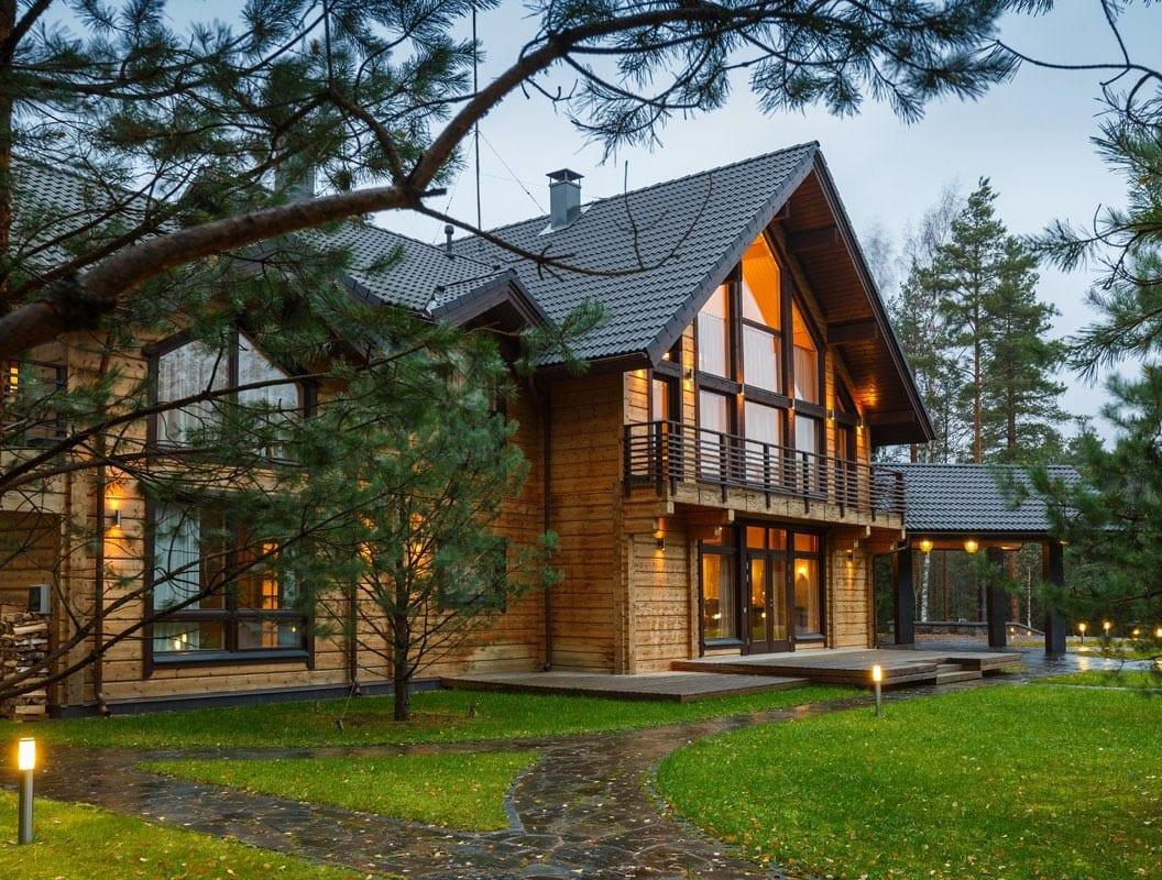 Архитектура загородных домов
